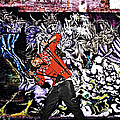 Street Phenomenon Chris Brown Print by The DigArtisT