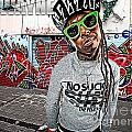 Street Phenomenon Lil Wayne Print by The DigArtisT