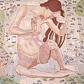 Study for Day Poster by Ferdinand Hodler