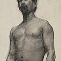Study of a Negro Man Print by Henry Ossawa Tanner