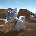 Submillimetre Array Telescopes Print by Magrath Photography