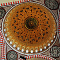 Sulemaniye Mosque Dome Print by Dean Harte