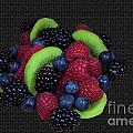 Summer Fruit Medley Print by Michael Waters