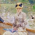 Summers Day Print by Berthe Morisot