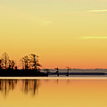 Sunrise Over Lake Poster by patti white photography