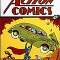 SUPERMAN COMIC BOOK, 1938 Poster by Granger