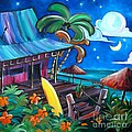 Surf Shack Poster by Jerri Grindle
