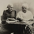 Susan B. Anthony And Elizabeth Cady Poster by Everett