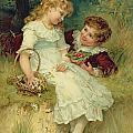 Sweethearts Print by Frederick Morgan