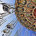 Swing Ride at the Fair Poster by Jeremy Woodhouse