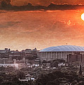 Syracuse Sunrise over the Dome Print by Everet Regal