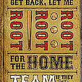 Take Me Out the the Ballgame Poster by Jeff Steed