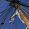 Tall Ship Rigging Poster by Garry Gay