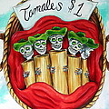 Tamales One Dollar Poster by Heather Calderon