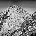 Taos Mountain 3 Print by Lisa  Spencer