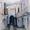 Tarifa Archway Poster by Stephanie Aarons