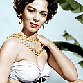 Tarzans Peril, Dorothy Dandridge, 1951 Print by Everett