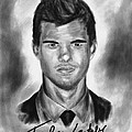 Taylor Lautner sharp Poster by Kenal Louis
