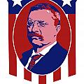 Teddy Roosevelt Our President  Print by War Is Hell Store