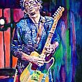 Telecaster- Keith Richards Poster by David Lloyd Glover