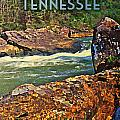 Tennessee Big South Fork Poster by Flo Karp