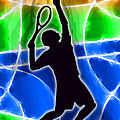 Tennis Print by Stephen Younts