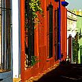 Terracotta House on the Hill Poster by Olden Mexico