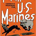 Teufel Hunden German Nickname For US Marines Poster by War Is Hell Store