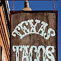 TEXAS TACOS Poster by Charles Dobbs