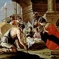 The Adoration of the Shepherds Print by Louis Le Nain