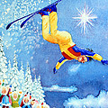 The Aerial Skier 18 Poster by Hanne Lore Koehler