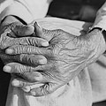 The Aged Hands Of Mr. Henry Brooks Print by Everett