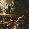 The Agony in the Garden Print by Guiseppe Cesari