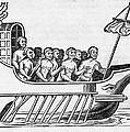The Argo, 17th Century Artwork Print by Middle Temple Library
