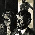 The Assassination of Abraham Lincoln Print by English School