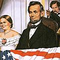 The Assassination of Abraham Lincoln Print by John Keay