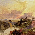The Avon Gorge at Sunset  Poster by Francis Danby