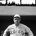 The Babe - Red Sox Print by International  Images
