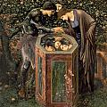 The Baleful Head Print by Sir Edward Burne-Jones