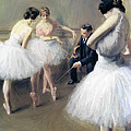 The Ballet Lesson Poster by Stefan Kuhn