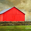 The Big Red Barn Poster by Darren Fisher