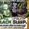 The Black Sleep, Close-up On Left Tor Poster by Everett