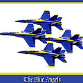 The Blue Angels Poster by Greg Fortier