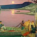 The Call of the Sea Poster by Frederick Cayley Robinson