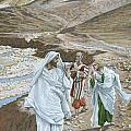 The Calling of St. Andrew and St. John Print by Tissot