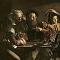 The Calling of St. Matthew Print by Michelangelo Merisi da Caravaggio