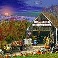 The Campton Farm Poster by Nancy Griswold