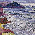 The Choppy Sea Print by Henri-Edmond Cross