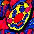 The Circus Circus Clown Poster by Wingsdomain Art and Photography