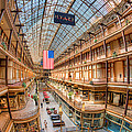 The Cleveland Arcade IV Print by Clarence Holmes